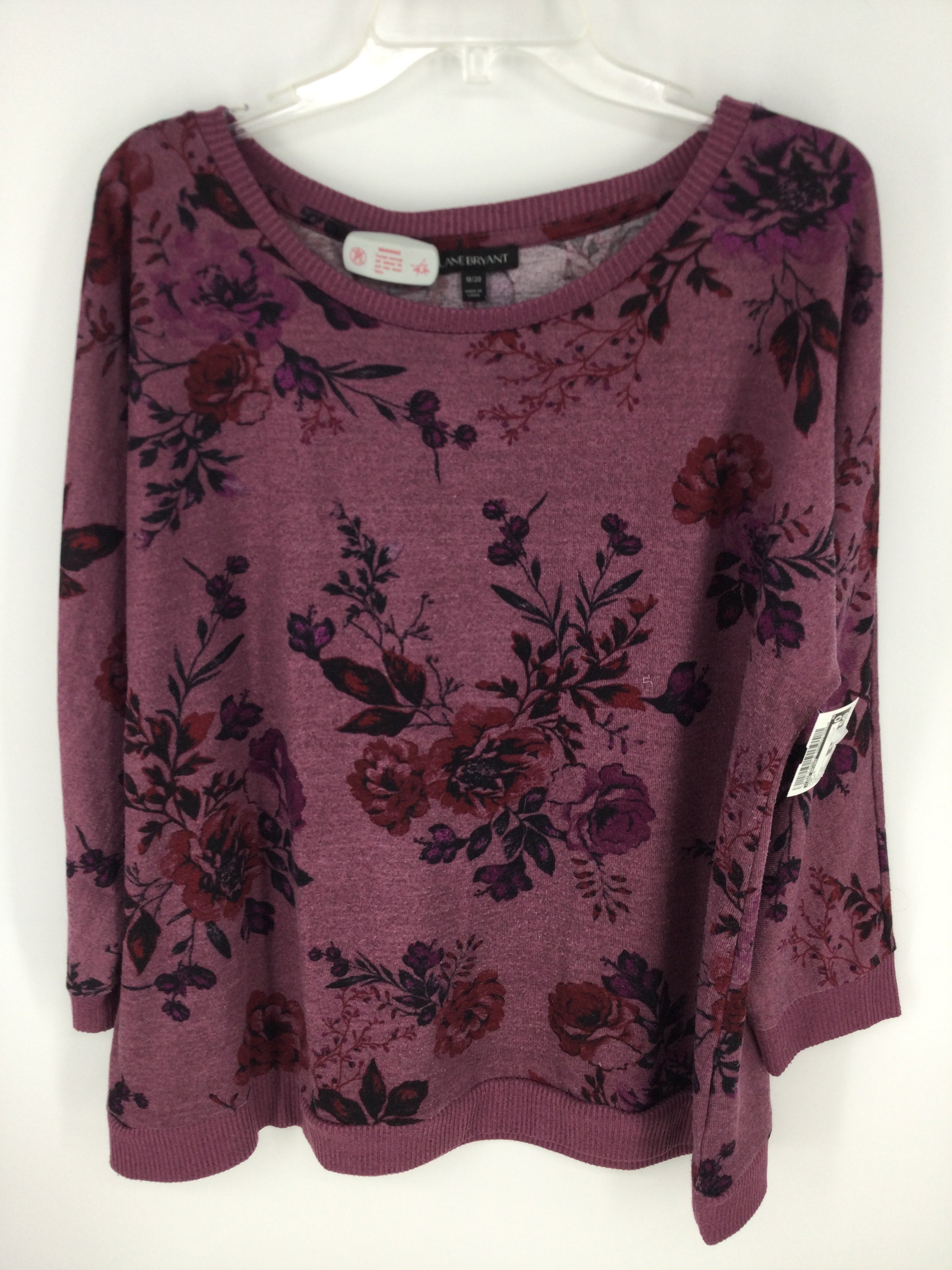 Primary Photo - Brand: LANE BRYANT <br>Style: TOP Long Sleeve <br>Color: PINK <br>Size: 2X <br>SKU: 128-3212-52081