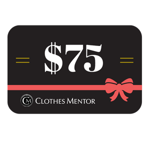$75 Gift Card to Clothes Mentor Columbus & Toledo