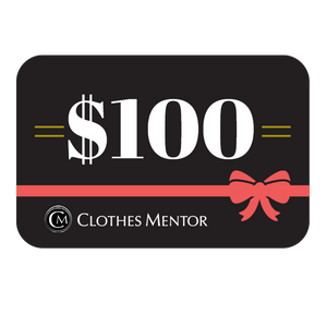 $100 Gift Card to Clothes Mentor Columbus & Toledo