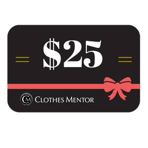 $25 Gift Card to Clothes Mentor Columbus & Toledo