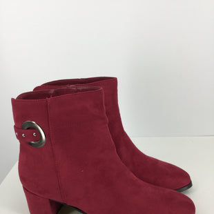 Primary Photo - BRAND: EAST 5TH STYLE: BOOTS ANKLE COLOR: RED SIZE: 8.5 OTHER INFO: NEW! SKU: 128-3212-48597