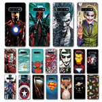 Newest Deadpool Printed Case For Samsung Galaxy S10 Batman Novelty Phone Shell For Samsung S10 Plus Lite Back Cover Fundas