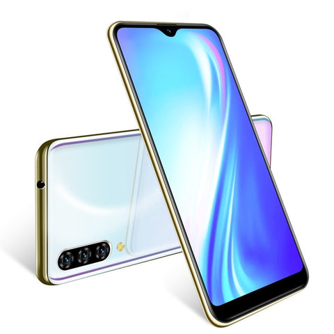 XGODY 3G Mobile Phone Note 7 2GB 16GB Smartphone 6.26'' Waterdrop HD Screen MTK6580 Quad Core Android 9.0 Face ID Unlock 2800mAh