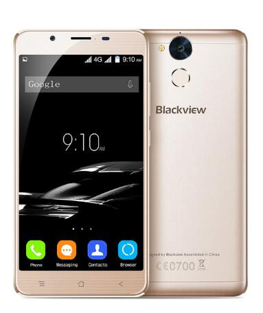 Blackview P2 6000mAh 5.5'' Full HD MTK6750T Octa Core QC OTG Android Metal Cell Phones 4GB RAM 64GB ROM Fingerprint Smartphone