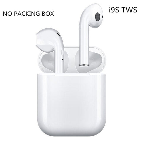 i9s tws Wireless Bluetooth 5.0 Earphone Mini Headphone Earbuds Sport Headset with Charging Box Mic For Huawei Xiami Smart Phone