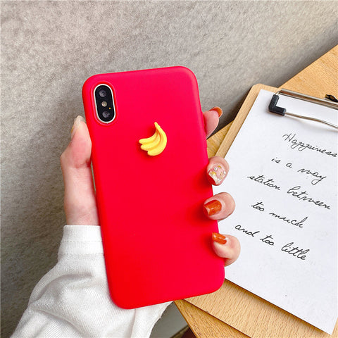 Case For Samsung Galaxy S8 S9 S10 5G Lite Plus S6 S7 Edge Soft Cover Cute 3D Fruit Silicone Peach Grape Avocado orange Cases