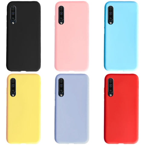 Phone Case For Samsung A30s A 30s 2019 Ultra thin Case Candy Color TPU Cover For Samsung Galaxy A30s Silicone Soft Cover case