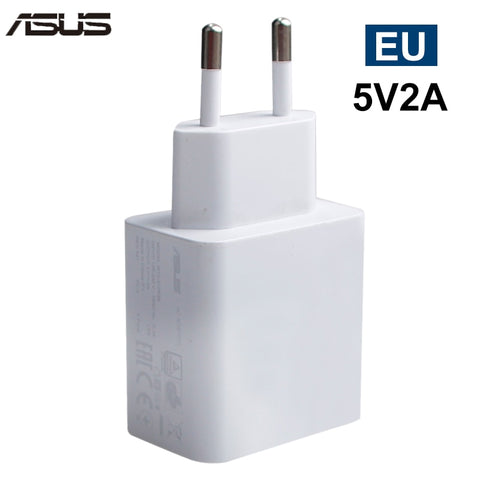Original ASUS EU US Charger Adapter 5V 2A USB Travel Charging for Asus Zenfone 2 for Xiaomi Samsung Huawei Smart Mobile Phone