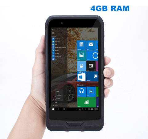 China K72H Windows 10 Rugged Waterproof Mobile PDA phone 4GB RAM 64GB ROM Handheld Data Tablet PC GPS 2D Scanner K62H Upgrade