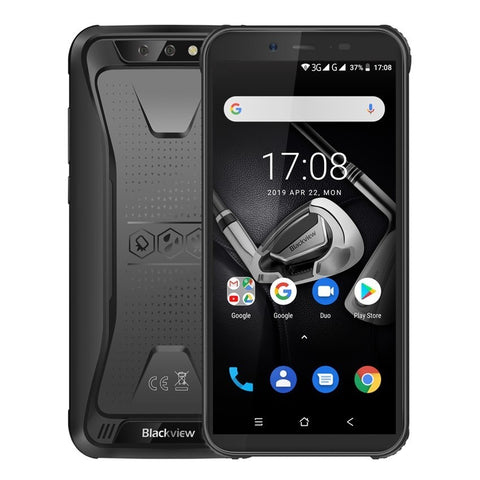 "Blackview BV5500 IP68 Waterproof shockproof Mobile Phone Android 8.1 rugged 3G Smartphone 5.5"" 2GB+16GB Dual SIM cell phones"