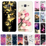 Fashion Cool Case For Samsung Galaxy J5 Case Silicone Soft TPU For Samsung J5 J5008 YC955 SMJ500F J500 J500F Phone Cover 2015
