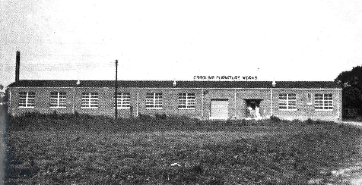 Carolina Furniture Works Circa 1946