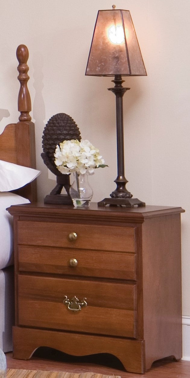 Common Sense Two Drawer Nightstand