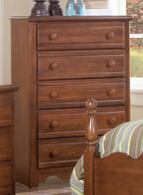 Load image into Gallery viewer, Carolina Crossroads Five Drawer Chest | Carolina Furniture Works, Inc.