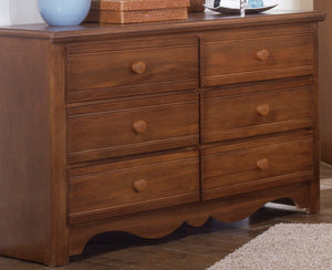 Carolina Crossroads Double Dresser | Carolina Furniture Works, Inc.