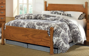 Creek Side Poster Bed | Carolina Furniture Works, Inc.