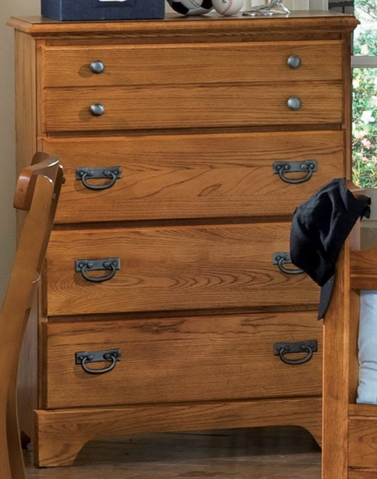 Creek Side Four Drawer Chest | Carolina Furniture Works, Inc.