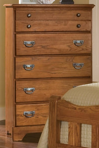 Creek Side Five Drawer Chest | Carolina Furniture Works, Inc.