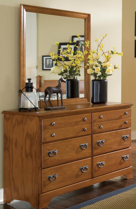 Creek Side Double Dresser | Carolina Furniture Works, Inc.