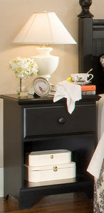Midnight Nightstand | Carolina Furniture Works, Inc.