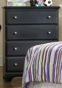 Midnight Four Drawer Chest | Carolina Furniture Works, Inc.