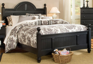 Midnight Cottage Bed | Carolina Furniture Works, Inc.
