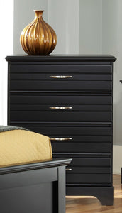 Platinum Four Drawer Chest | Made in the USA
