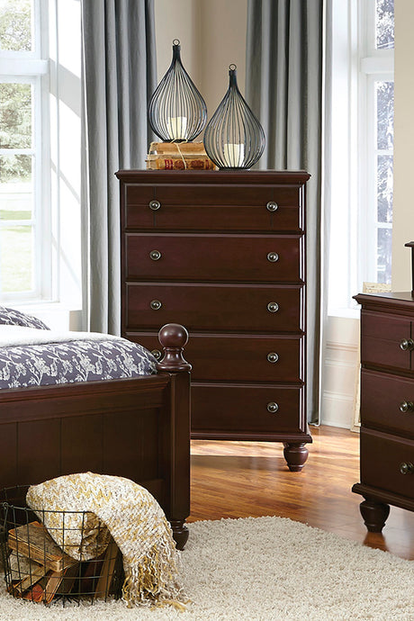 Craftsman Five Drawer Chest | Made in the USA