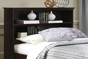 Craftsman Bookcase Headboard | Made in the USA