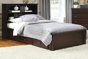 Craftsman Bookcase Bed | Made in the USA