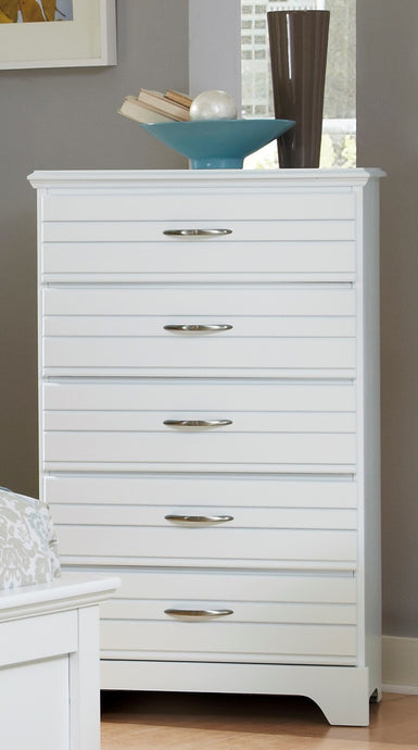 Platinum Five Drawer Chest | Made in the USA