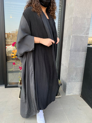 Load image into Gallery viewer, The Swedish Abaya - Loose Washed Silk