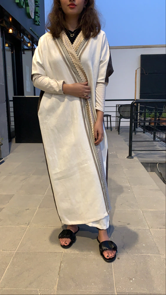The Winter CÉLINE Abaya - Luxury Modern Bisht (thick fabric suitable for cold weather)