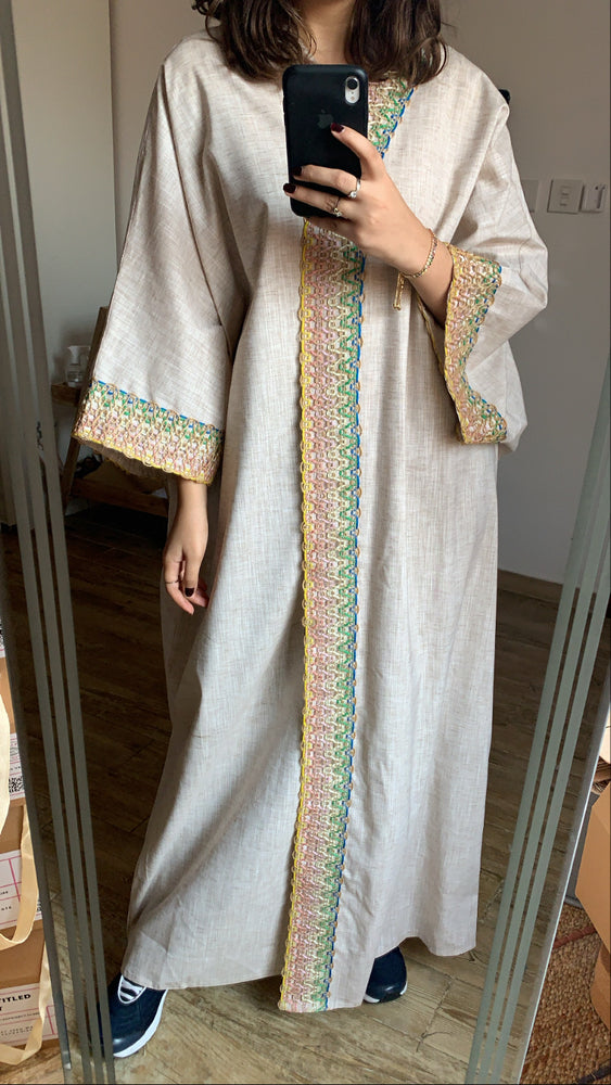 The Shorooq Abaya - lightweight for summer