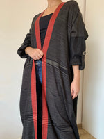 Pattern printed casual abaya - The untitled project