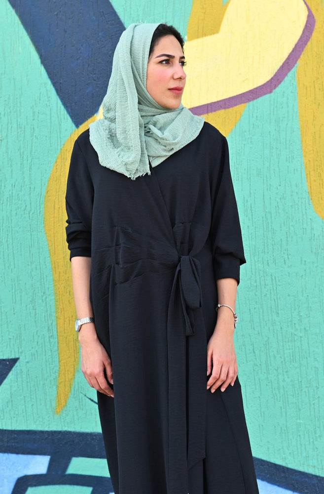Load image into Gallery viewer, The Veneta Abaya - Italian inspired design - The Untitled Project