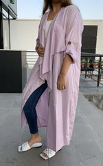 The Trend Setter - Cotton Cardigan Abaya