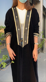 The Toleen Abaya - Luxury Velvet Mishlah