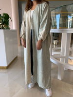 The Maria Abaya - Signature Chic in Linen