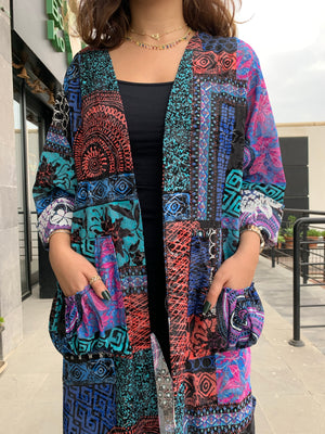 Load image into Gallery viewer, The Havana Abaya - Tropical for Summer - Online Shopping - The Untitled Project