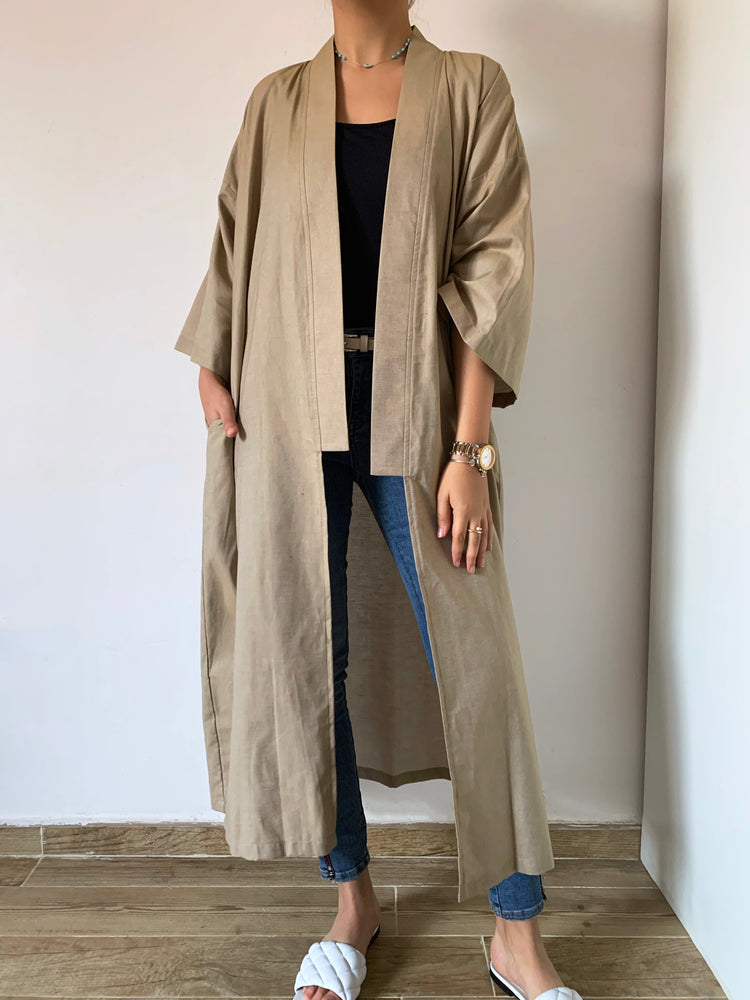 The Beju Kimono - Light Denim - Online Shopping - The Untitled Project