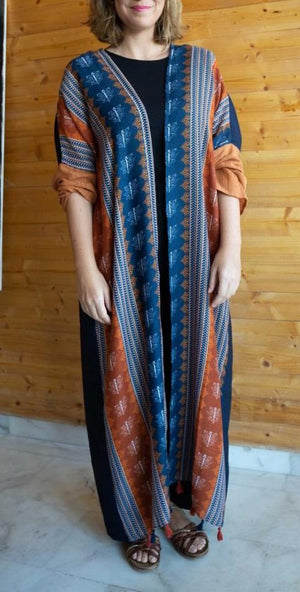 The Gypsy Abaya - Summertime Boho Bali Print - The untitled project