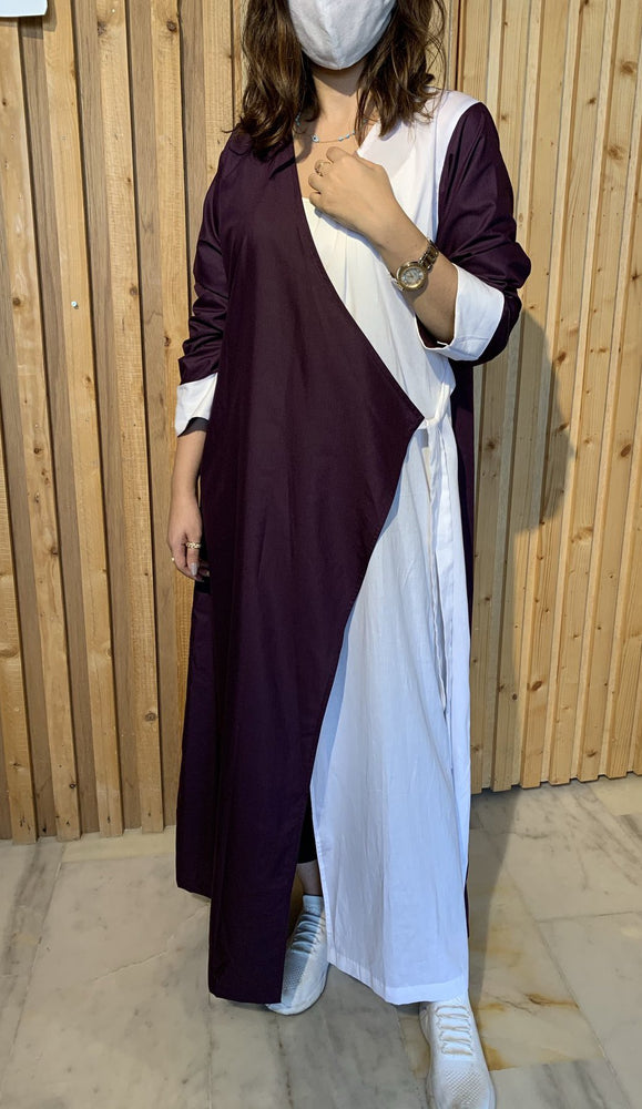 The Atlantis Wrap Abaya  - Dress Style