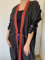 Pattern printed casual abaya