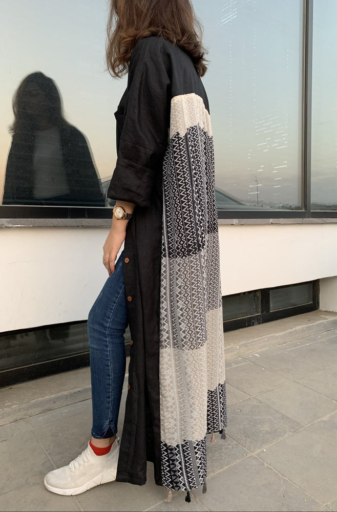 The Sundance Abaya - Easy to style button-down - Online Shopping - The Untitled Project