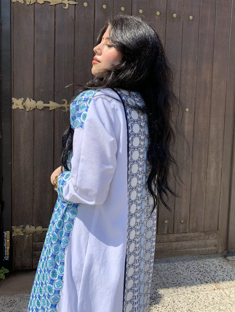 Oxford Blue Abaya - Inspired by the Turks - The Untitled Project