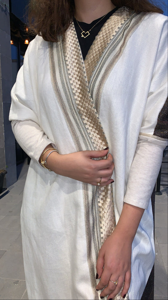The Winter CÉLINE Abaya - Luxury Modern Bisht (thick fabric suitable for cold weather) - The untitled project