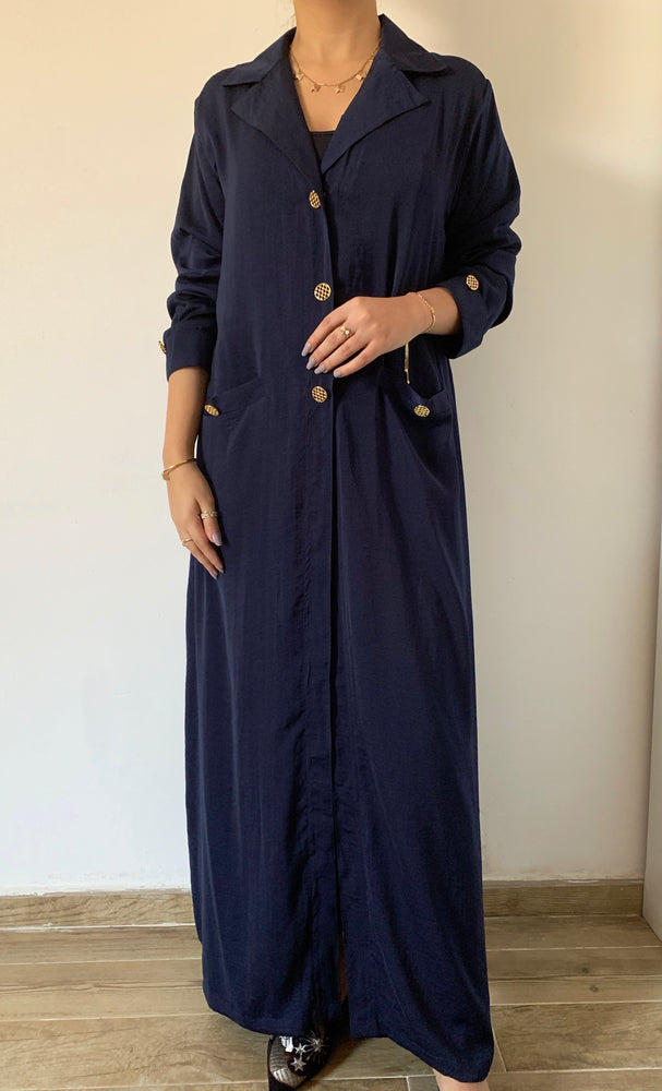 Office button down - Washed Silk suit-Abaya - The untitled project
