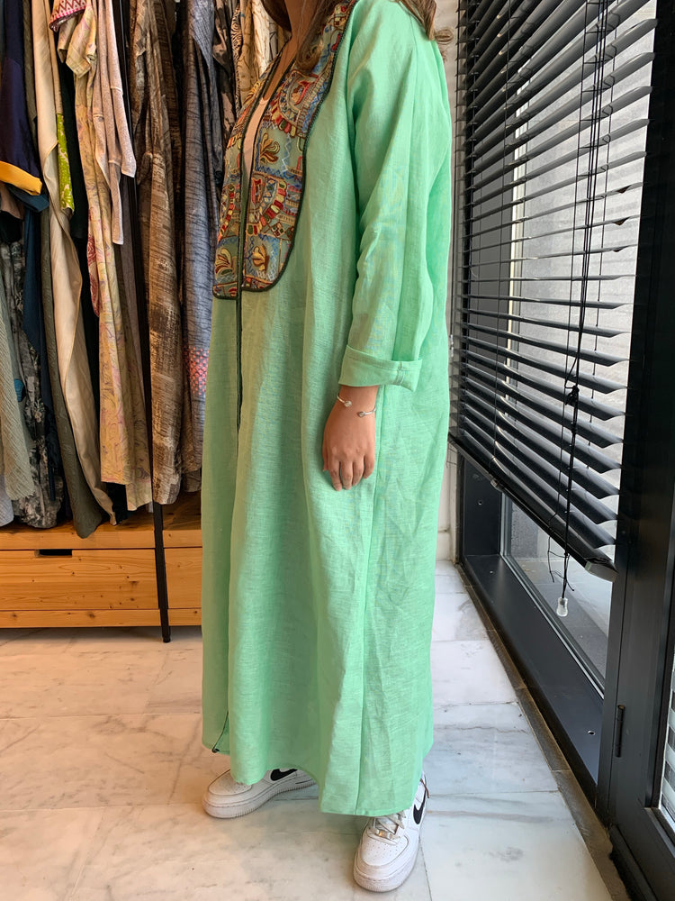 The Shinas Jilbab Abaya - Eid in Luxury Linen - The Untitled Project