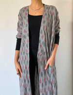 Boho IKAT Summer Abaya - Casual Wear - The untitled project